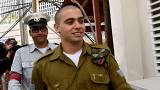 Israeli soldier jailed for killing prone Palestinian attacker