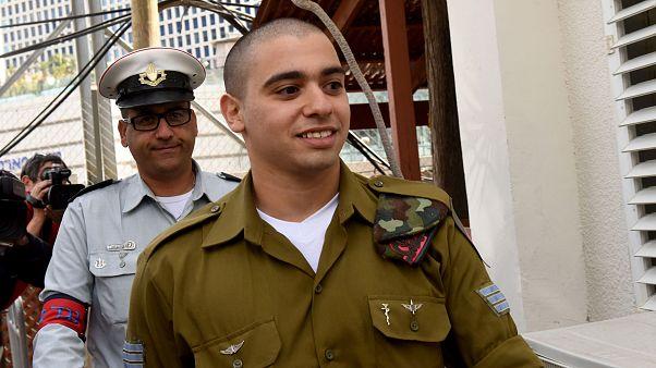 Израильский солдат, добивший раненого палестинца, проведет в тюрьме полтора года