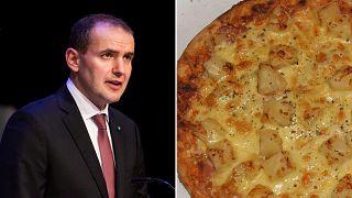 Betiltaná az ananászos pizzát az izlandi elnök