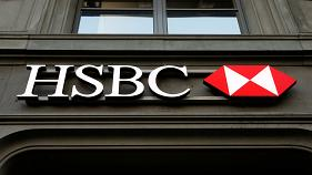 HSBC's profits plunge dragging down share price