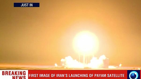 Image: The Payam satellite is launched in Iran