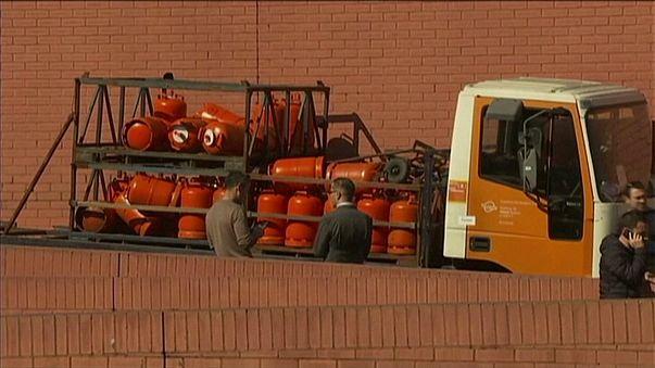 Tirs de police pour arrêter un camion volé chargé de bonbonnes de gaz