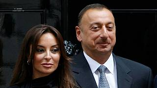 Azeri president boosts family ties by making wife deputy