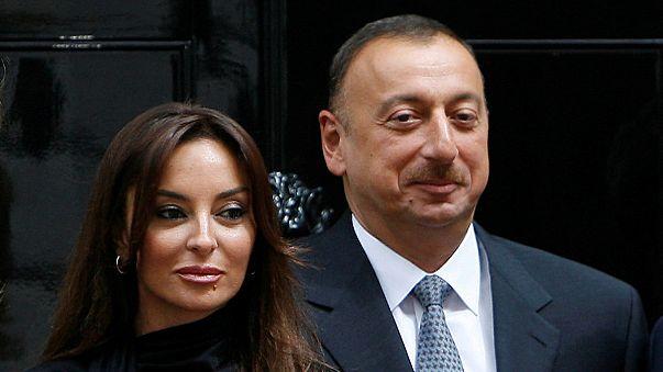 رئيس أذربيجان يعين زوجته نائبا له