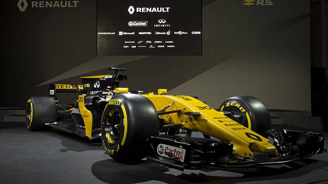 Formula One: Renault unveil new R.S.17