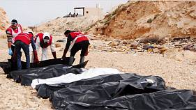 Bodies of at least 74 migrants found off Libya coast