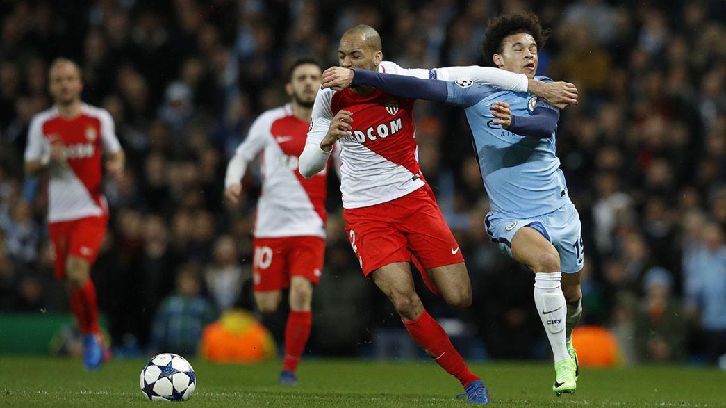 Manchester City gewinnt irres Achtelfinal-Hinspiel gegen Monaco- Leverkusen vor dem Achtelfinal-Aus