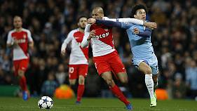 Champions League: Manchester City rally late to beat Monaco in eight-goal thriller