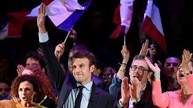 Emmanuel Macron lleva la campaña presidencial francesa a Londres