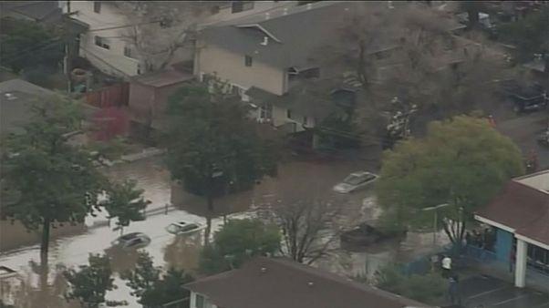 200 evacuados en California por las inundaciones en San José