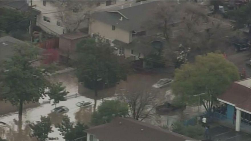 California, centinaia di persone evacuate per inondazioni a San Jose