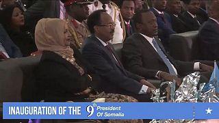 Mogadiscio: investiture du président Farmajo