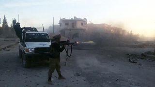 قوات سوريا الديمقراطية تحقق تقدما ضد عناصر تنظيم الدولة الاسلامية شرقي سوريا
