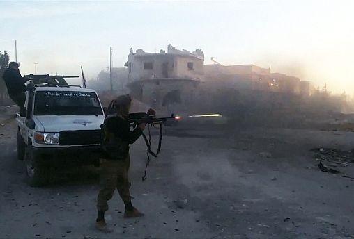 Mueren 44 yihadistas del EI y un soldado turco en combates en norte de Siria