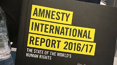 Amnesty International blasts 2016 human rights violations