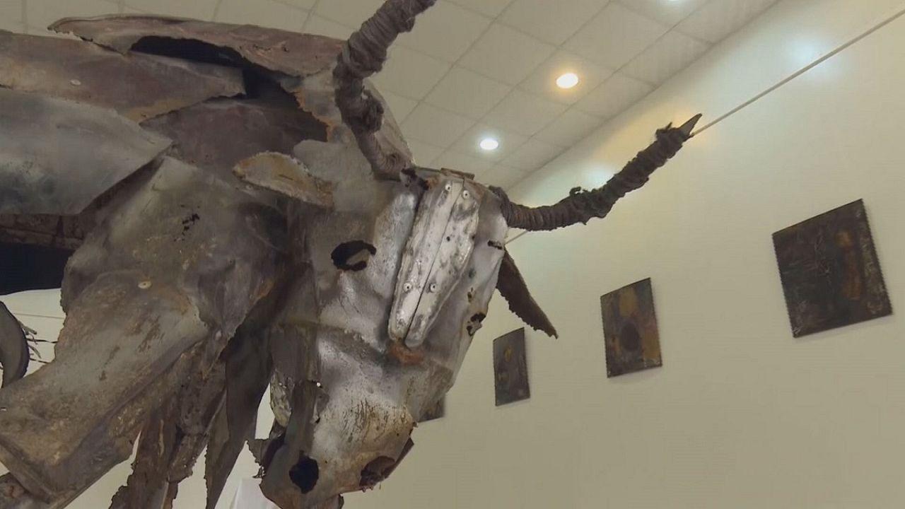 Irak : quand la guerre se transforme en oeuvre d'art
