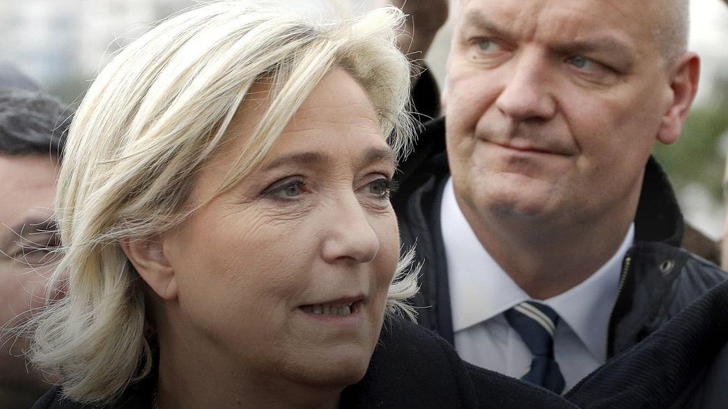 Kihallgatják Marine Le Pen testőrét és vezérkari főnökét