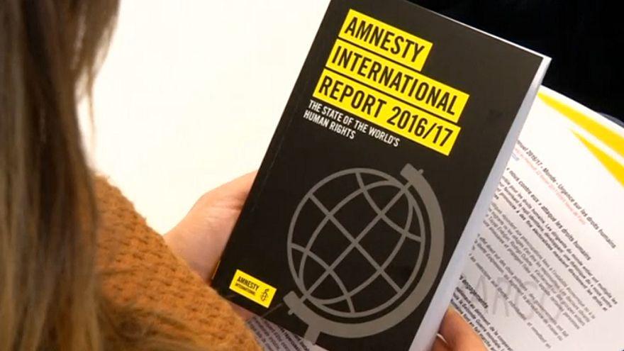 """David Griffiths, Amnistia Internacional: """"Vimos em 2016 o surgimento no mundo inteiro de políticas de diabolização"""""""