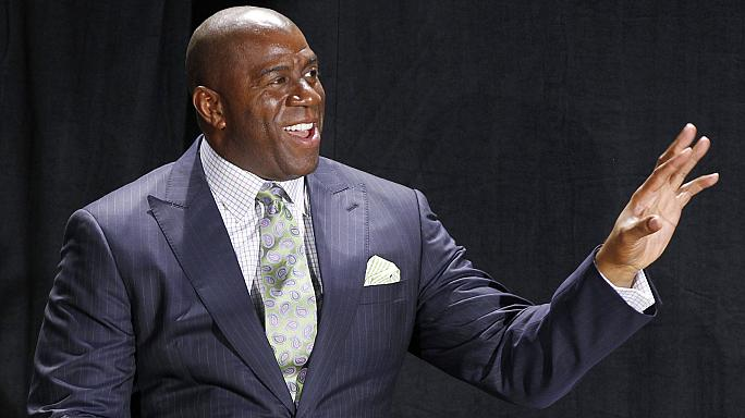 "NBA: ""Magic"" Johnson nuovo presidente dei Lakers"