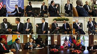 Obama & Africa [4]: Meeting African leaders in US (Photos)
