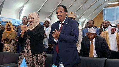 Somalie : Mohamed Abdullahi Mohamed investi dans ses fonctions de président de la république
