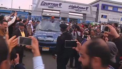 Body of World Trade Center bomber arrives in Cairo