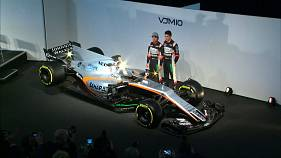 Force India unveil 2017 car