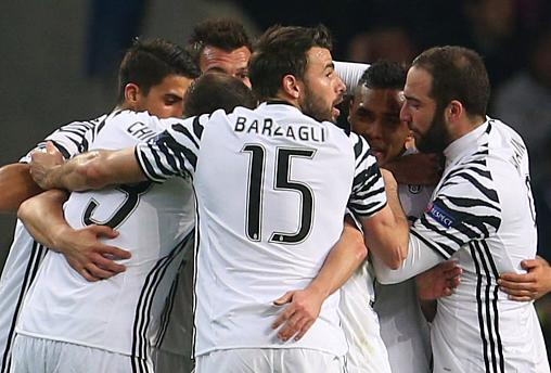 Champions League: Juve legt fürs Viertelfinale vor