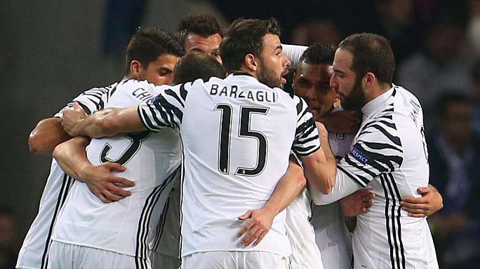 Champions League: ottavi di andata, vincono Juve e Siviglia