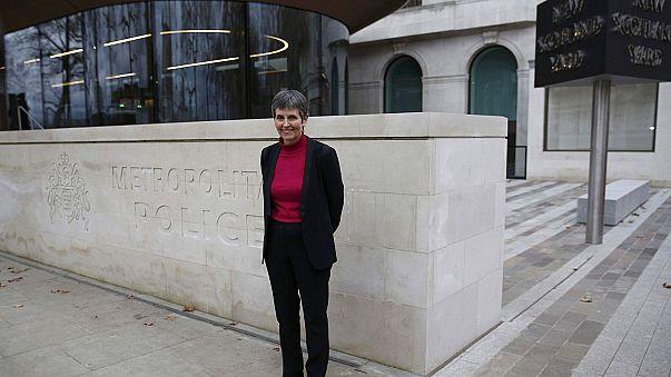 Une femme prend la tête de Scotland Yard