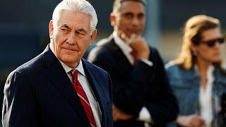 ABD Dışişleri Bakanı Rex Tillerson ilişkilerin gerildiği Meksika'da