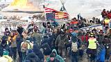 Dakota pipeline protest runs out of fuel