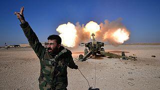 فرودگاه موصل در کنترل نیروهای عراقی
