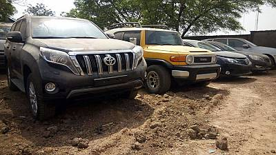 Nigeria's anti-graft outfit seizes 17 luxury vehicles from ex-Customs chief