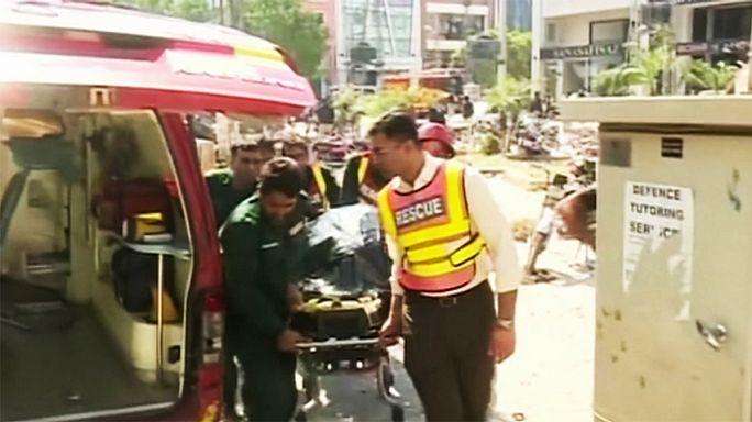 قتلى وجرحى بسبب انفجار وسط لاهور في باكستان
