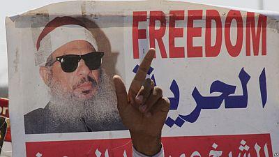 """Égypte : des centaines de personnes aux funérailles du """"Cheikh aveugle"""""""