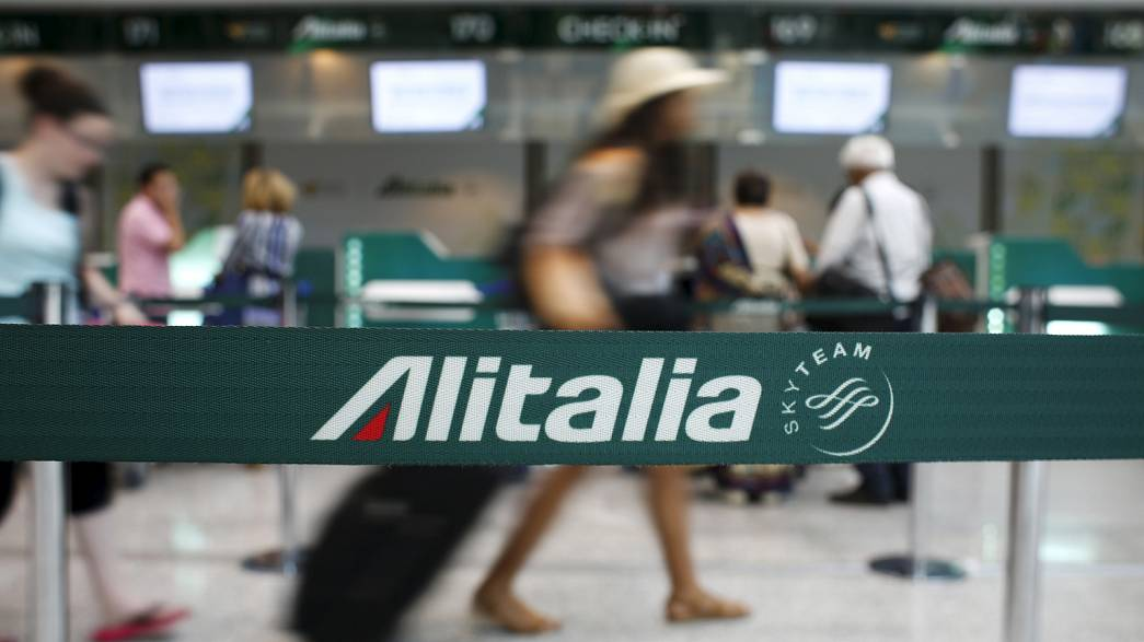 Alitalia workers stage one-day strike