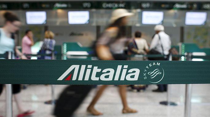 Angst vor der Pleite: Alitalia-Angestellte streiken