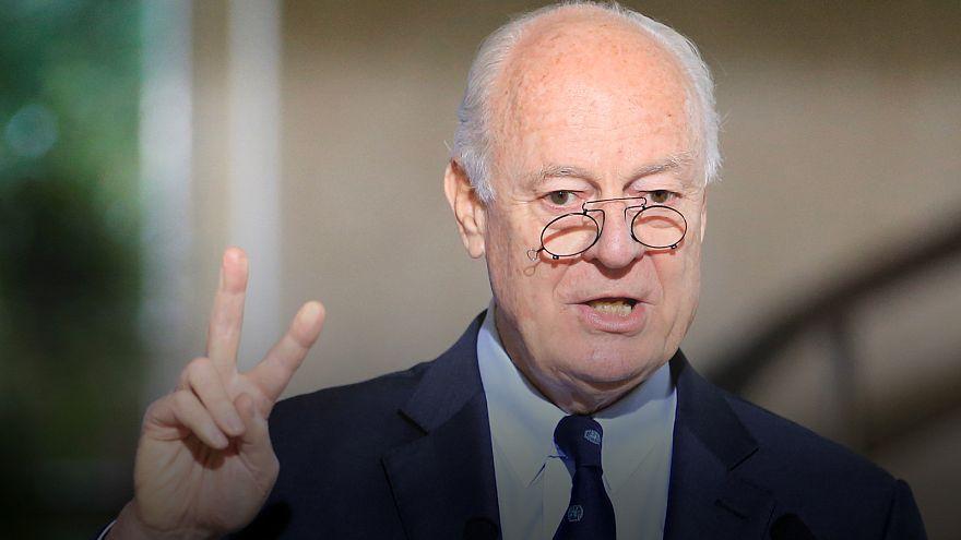 Syrien-Gespräche in Genf:UN-Vermittler trifft Regierung und Opposition