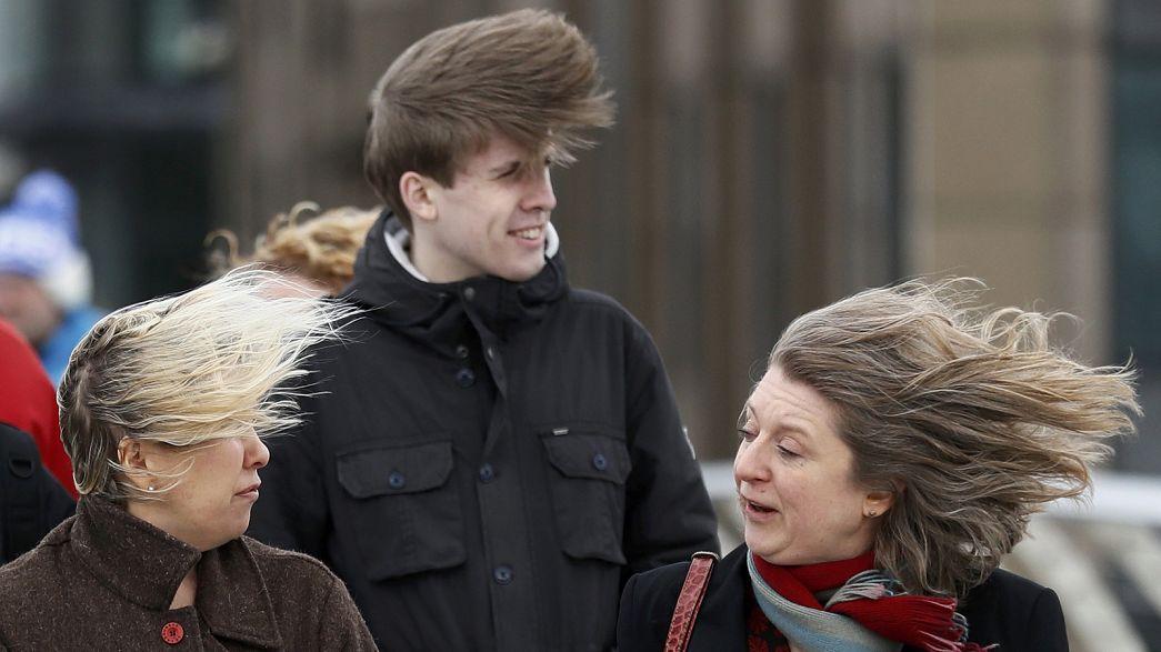 Storm Doris batters Britain