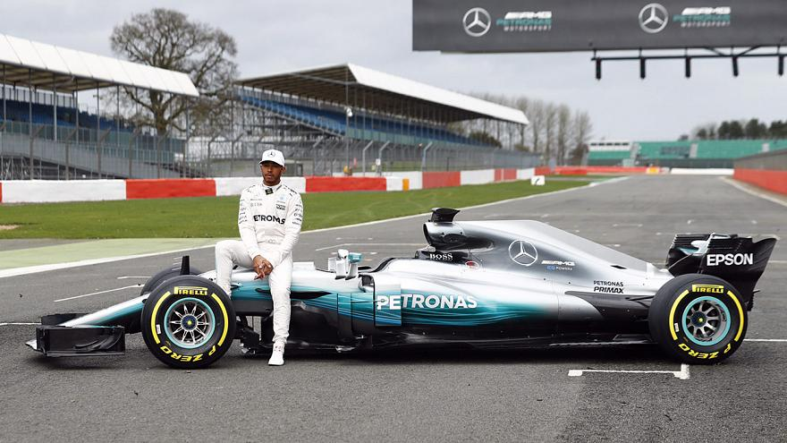 Formule 1 : Mercedes dévoile sa « F1 W08 EQ Power+ »