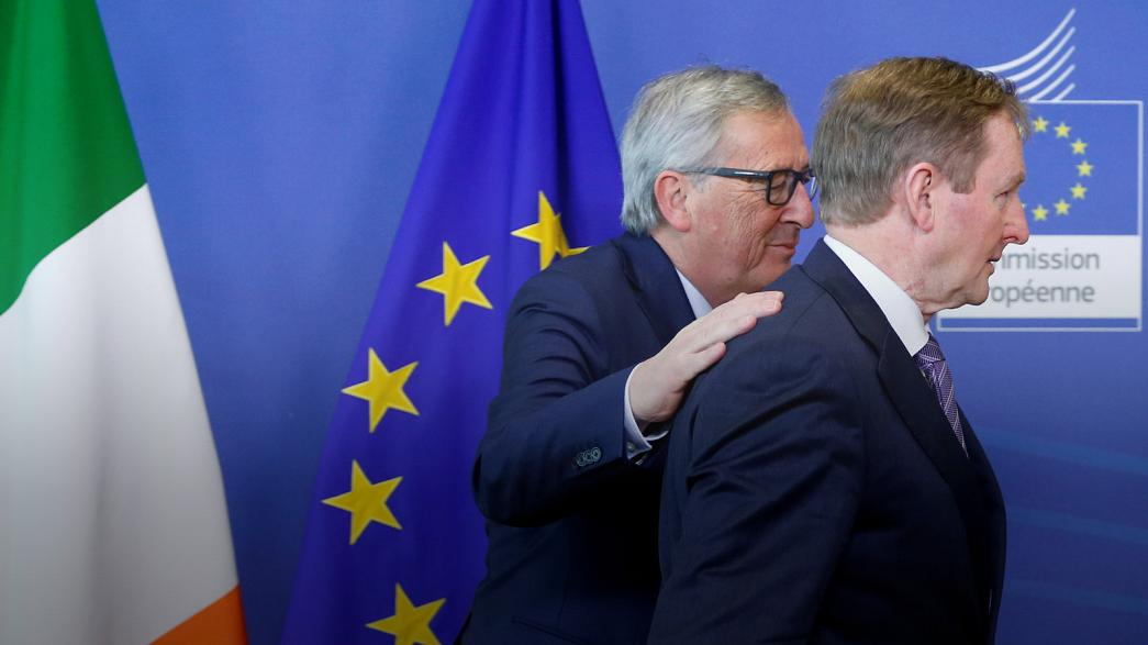 EU's Juncker warns of Brexit risk to Good Friday Agreement