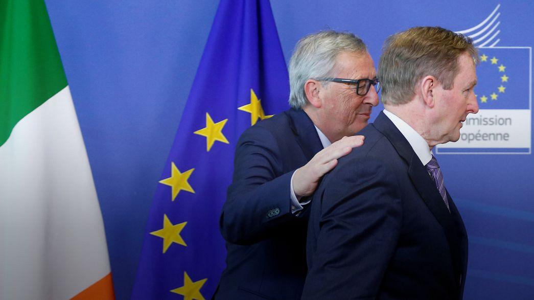 دیدار نخست وزیر ایرلند و رئیس کمیسیون اروپا؛ ایرلند نگران پیامدهای برکسیت است