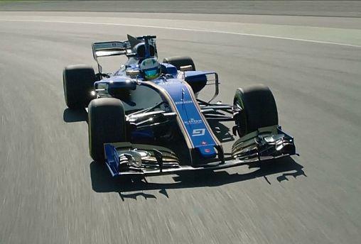 Sauber ya prueba su nuevo monoplaza en Montmeló