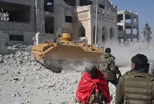 ترکیه آزادسازی شهر الباب سوریه توسط نیروهای تحت حمایت خود را تائید کرد