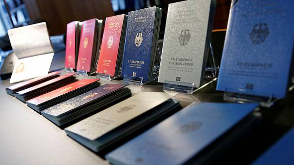 Germany unveils new passport design