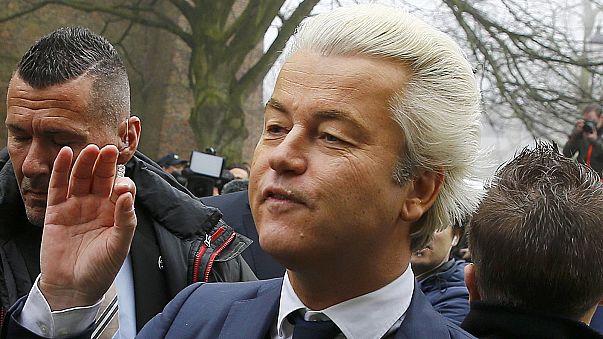 Geert Wilders tüm programlarını iptal etti
