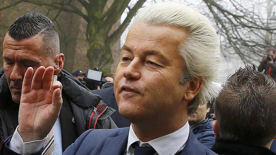 """Holanda: líder da extrema-direita suspende """"atos públicos"""""""