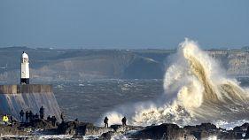 Deadly Storm Doris batters Britain