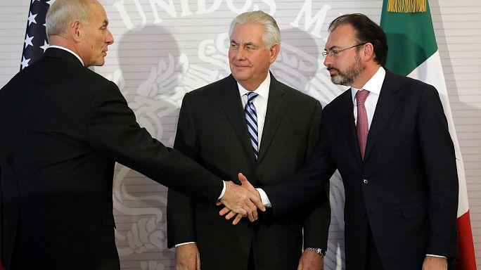ريكس تيلرسون في المكسيك لتهدئة العلاقات